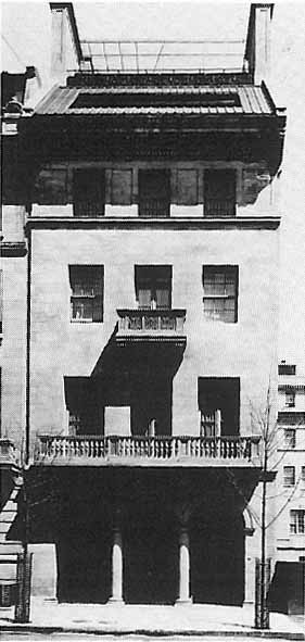 Dave Hennen Morris Residence - New York City (Wurts Bros., c.1915)