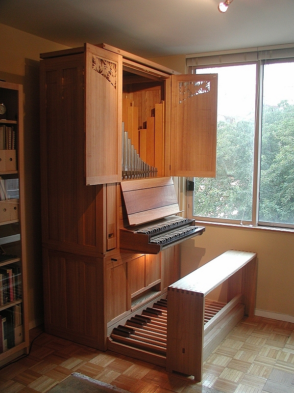 Wahl Organ - Op. 11C (2003)  - John Olson Residence - New York City