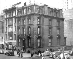 Helen Gould Shepard Residence at 579 Fifth Avenue - New York City (photo from Mrs. Johnston Stewart)