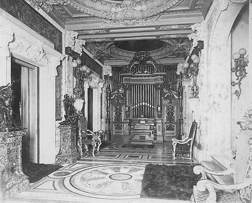 Aeolian Organ, Op. 1094 (1909) in William Douglas Sloane Residence - New York City