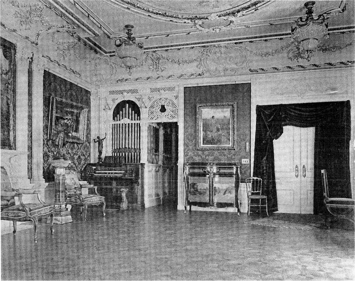 Aeolian Organ, Op. 874 (1899) in Frank W. Woolworth Residence - New York City (photo: Organ Historical Society)