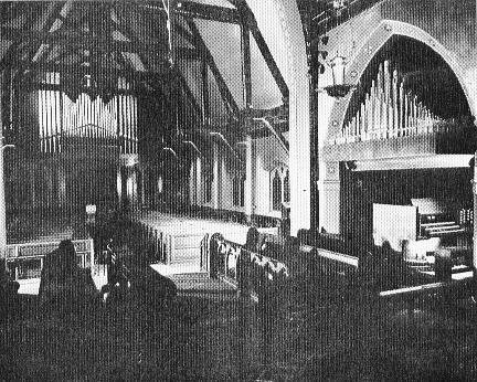 McManis Organ, Op. 53 (1962) formerly at Church of the Resurrection (Episcopal) - New York City (photo: The Diapason, June 1963; courtesy Jeff Scofield)