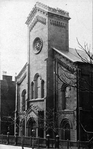 Scotch Presbyterian Church - New York City (c. 1890, MCNY)