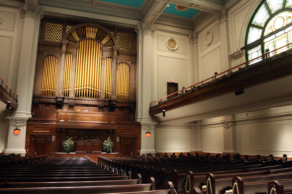 First (org. Second) Church of Christ, Scientist - New York City (photo: Steven E. Lawson)