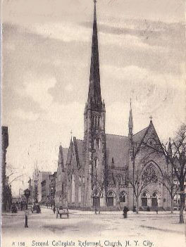 Second Collegiate Reformed Church of Harlem - New York City