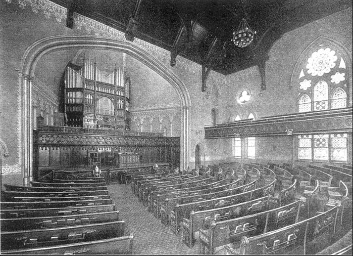Hilborne L. Roosevelt organ, Op. 341 (1886) in Second Collegiate Reformed Church of Harlem - New York City