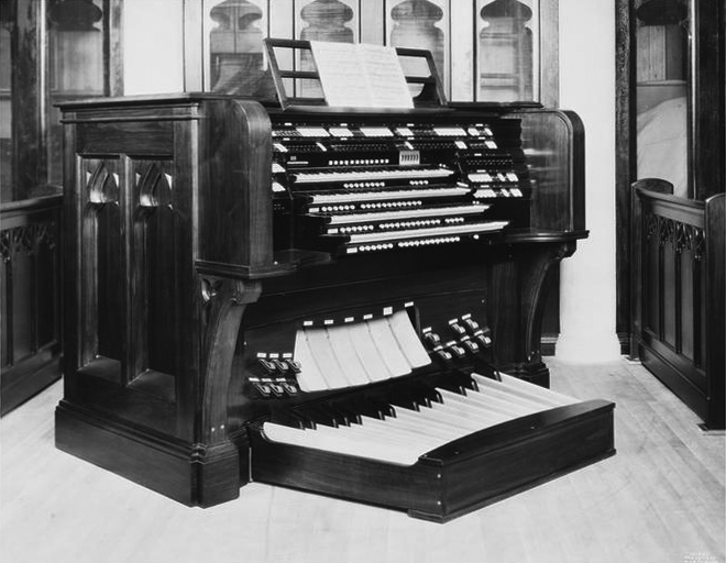 Austin Organ, Op. 1640 (1929) at Second Presbyterian Church - New York City (Wurts Bros., 1929, MCNY))