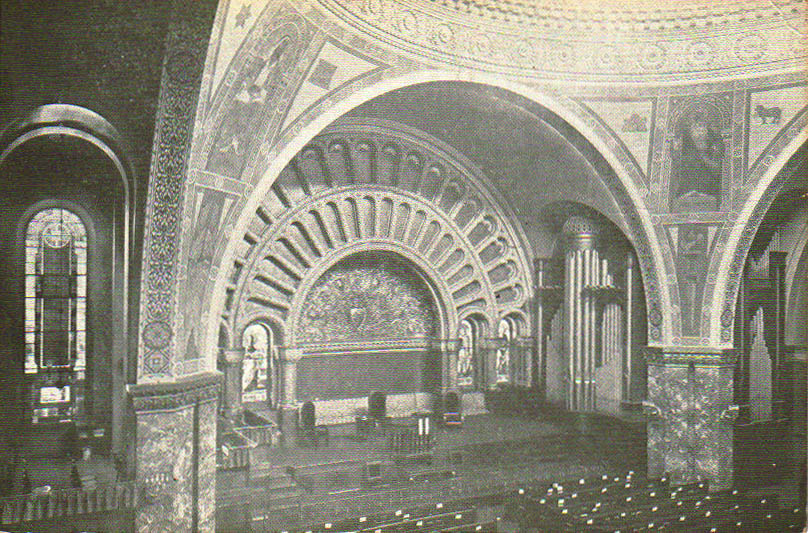 Interior of St. Andrew Methodist Episcopal Church - New York City