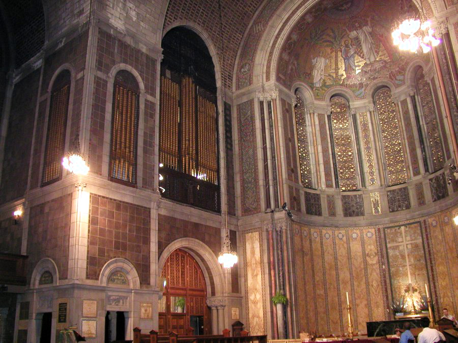 Chancel Organ of Aeolian-Skinner Organ, Op. 275-E/F (1970-71) at St. Bartholomew's Church - New York City (photo: Steven E. Lawson)