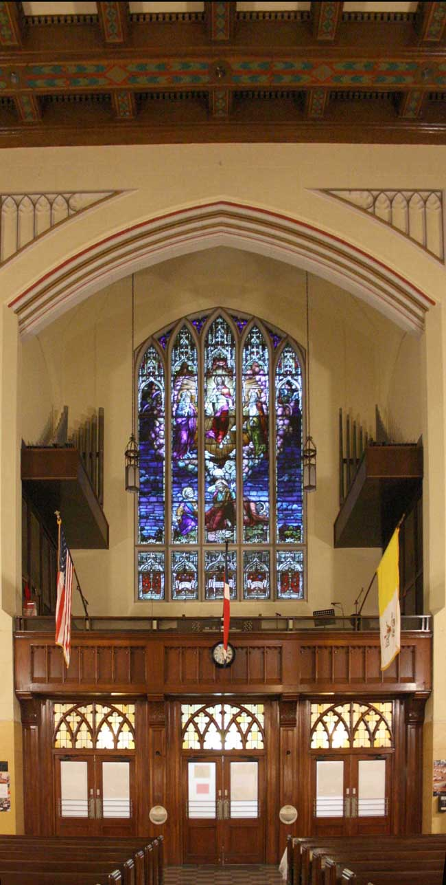 Casavant Frères Organ, Op. 2585 (1960) in St. Elizabeth Roman Catholic Church - New York City (photo: Steven E. Lawson)