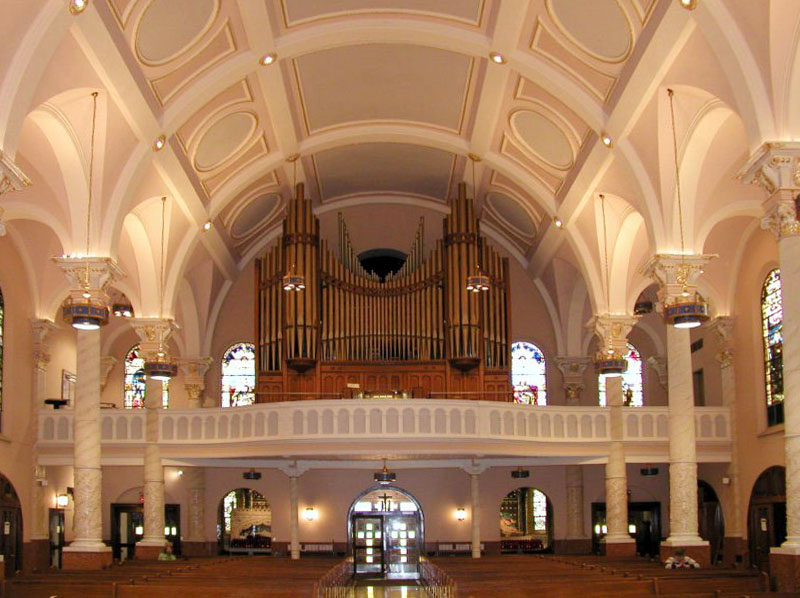 M. P. Möller Organ, Op. 11753 (1987) in the Roman Catholic Church of St. Francis of Assisi - New York City (Steven E. Lawson)