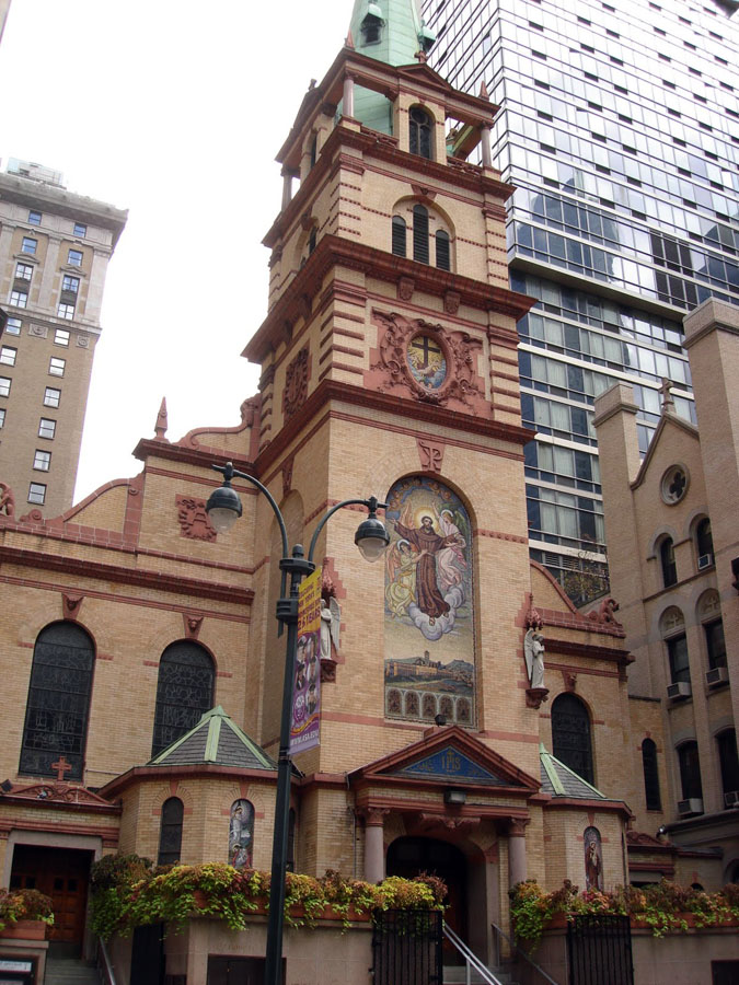 Church of St. Francis of Assisi - New York City (Capitol Catholic Blogspot)