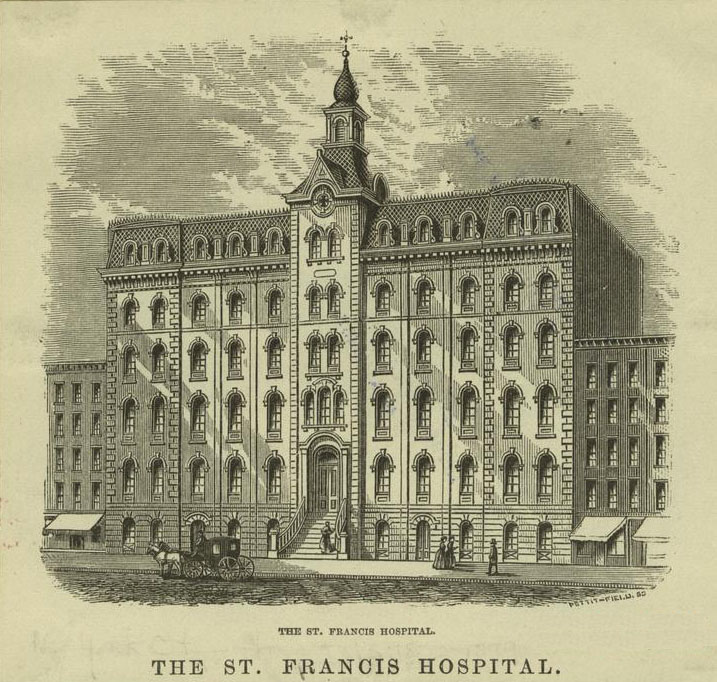 St. Francis Hospital (1865-1905) - New York City