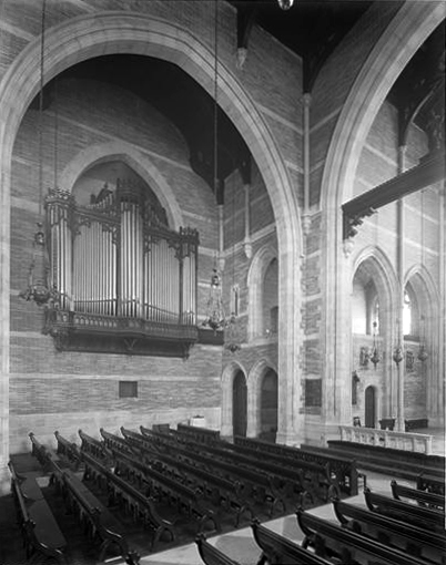Organ in the Church of St. Ignatius of Antioch - New York City (Wurts Bros., c.1902)