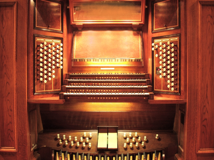 Mander Organ (1993) at the Church of St. Ignatius Loyola Church - New York City (photo: Steven E. Lawson)