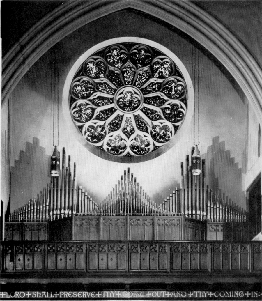 Antiphonal Division - Möller Organ, Op. 8888 (1956) at St. James Episcopal Church - New York City