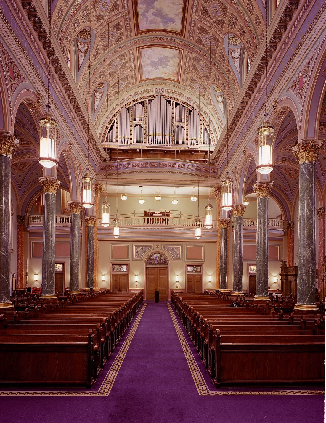 Church of St. Jean Baptiste - New York City (Photo Courtesy of Wicks Organ Company. http://www.wicksorgan.com)