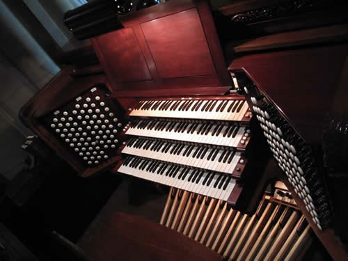 Aeolian-Skinner organ, Op. 150-A at the Cathedral Church of St. John the Divine - New York City (photo: Instantencore.com)