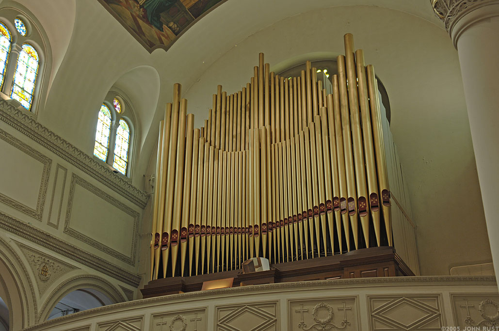 Müllet & Abel Organ (1893) - Church of St. Joseph (Yorkville) - New York City (Photo: John Rust)