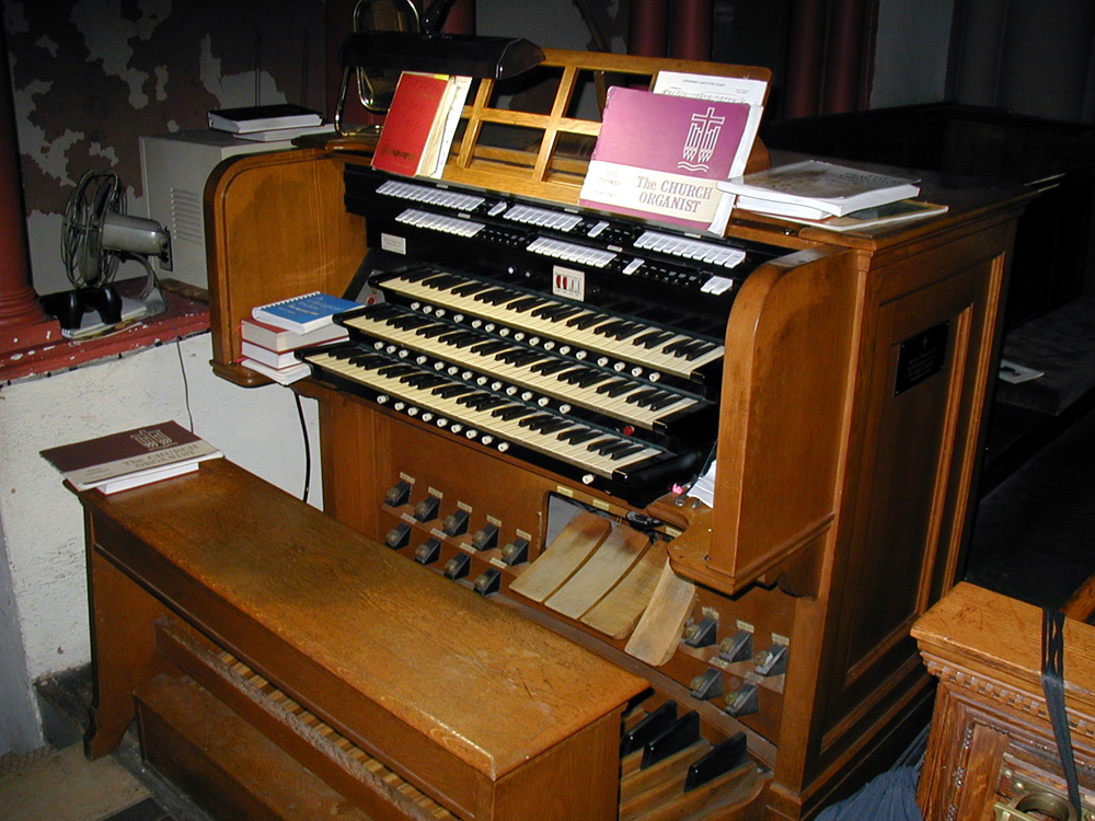 Austin Organ, Op. 284 (1912) at St. Luke Episcopal Church - Harlem, New York City (photo: David Schmauch)