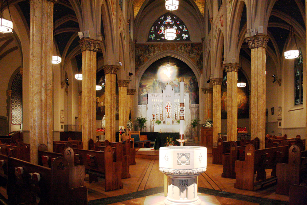 "St. Malachy's Catholic Church (""The Actors' Chapel"") - New York City (photo: Steven E. Lawson)"