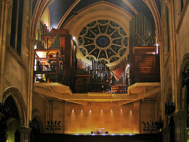 Aeolian-Skinner Organ, Op. 891 (1932) at Church of St. Mary the Virgin - New York City (photo: John Rust)