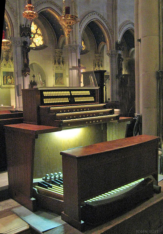 Holtkamp Console in Chancel of St. Mary the Virgin Episcopal Church - New York City (John Rust)