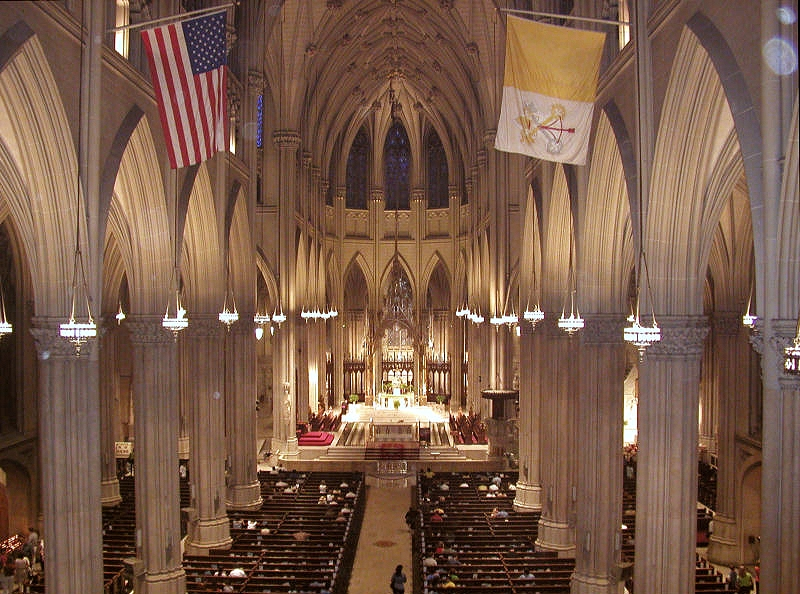 Interior - St. Patrick's Cathedral - New York City
