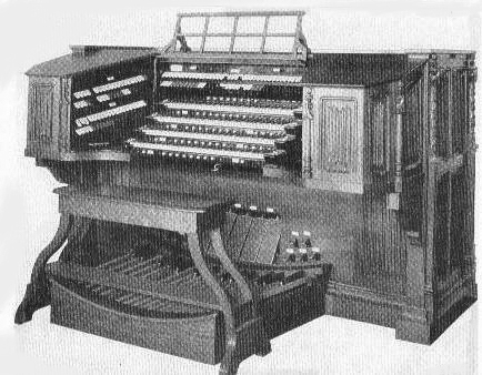 Original Gallery Organ Console - Kilgen, Op. 3920 (1929) - St. Patrick's Cathedral - New York City (The Diapason, July 1930)