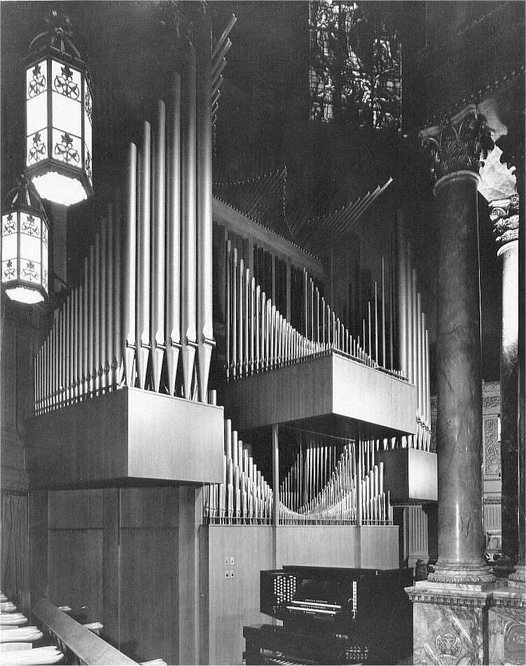 Original Möller Organ Installation, Op. 9984 (1964) - St. Paul the Apostle Church - New York City (Photo: Jeff Scofield)