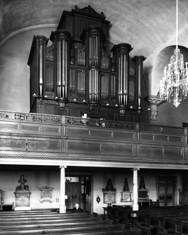J.H. & C.S. Odell Organ, Op. 92 (1870) in St. Paul's Chapel (Trinity Church) - New York City