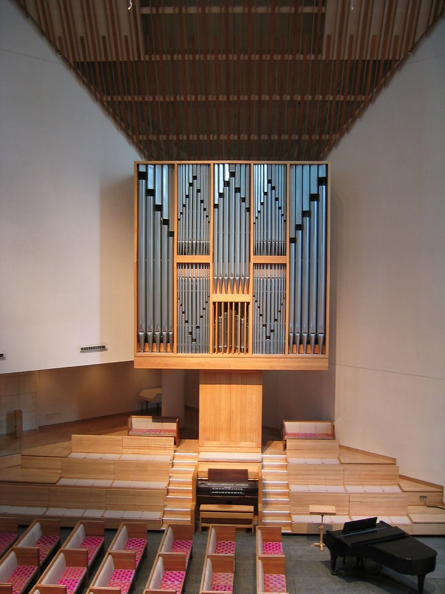 Klais Organ (1977) in St. Peter's Lutheran Church - New York City (Photo: Steven E. Lawson)