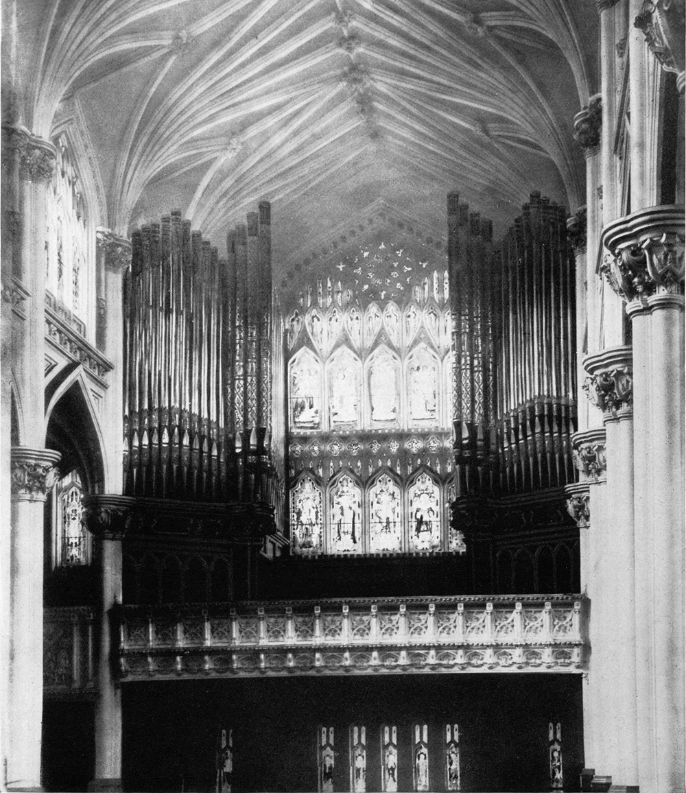 W.W. Kimball Co. Organ, KPO 3052 (1907) in St. Thomas the Apostle Catholic Church - New York City (photo: W.W. Kimball catalog)