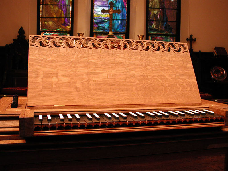 Taylor & Boody Continuo Organ, Op. 39 (2001) - St. Thomas Church Fifth Avenue - New York City (photo: William T. Van Pelt)