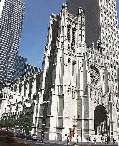 St. Thomas Church Fifth Avenue - New York City (photo: Arie deZanger)