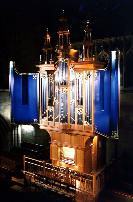 Taylor & Boody Organ, Op. 27 (1996) - St. Thomas Church Fifth Avenue - NYC (Photo: William T. Van Pelt)