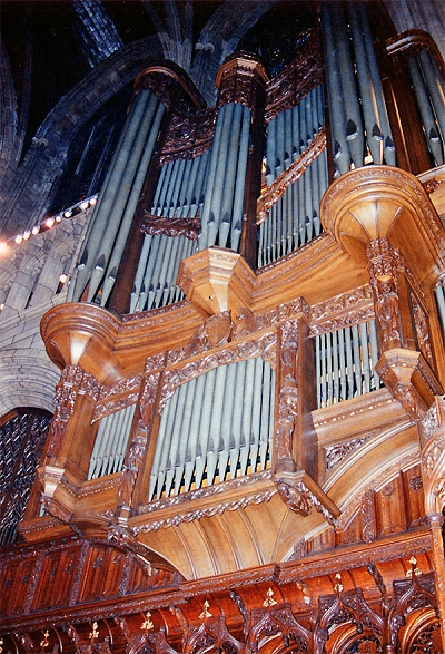 Organ Case of Ernest M. Skinner Organ, Op. 205 (1913) at St. Thomas Church Fifth Avenue - New York City (credit: John Rust)