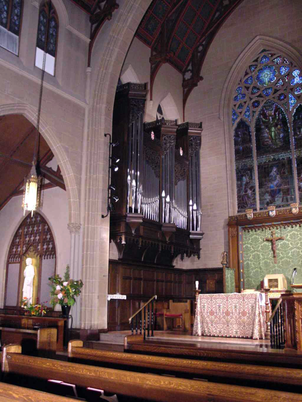 Lively-Fulcher Organ (1998) - Church of St. Thomas More - New York City (photo: Steven E. Lawson)