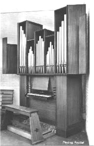 Flentrop Organ (1960) once in St. Ignatius of Antioch Church - New York City (Flentrop Orgelbouw)