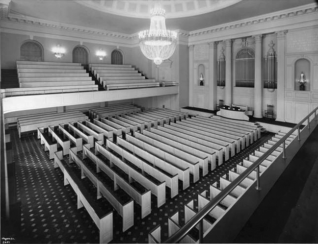 Estey Organ, Op. 2074 (1923) in the Third Church of Christ, Scientist - New York City (photo: Byron Company, 1925)