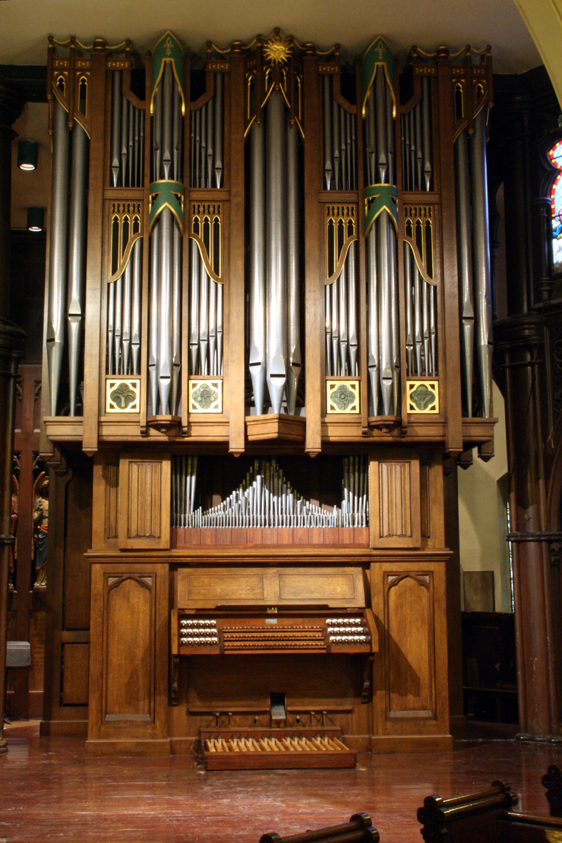 C.B. Fisk Organ, Op. 92 (1988) - Episcopal Church of the Transfiguration - New York City (photo: Steven E. Lawson)