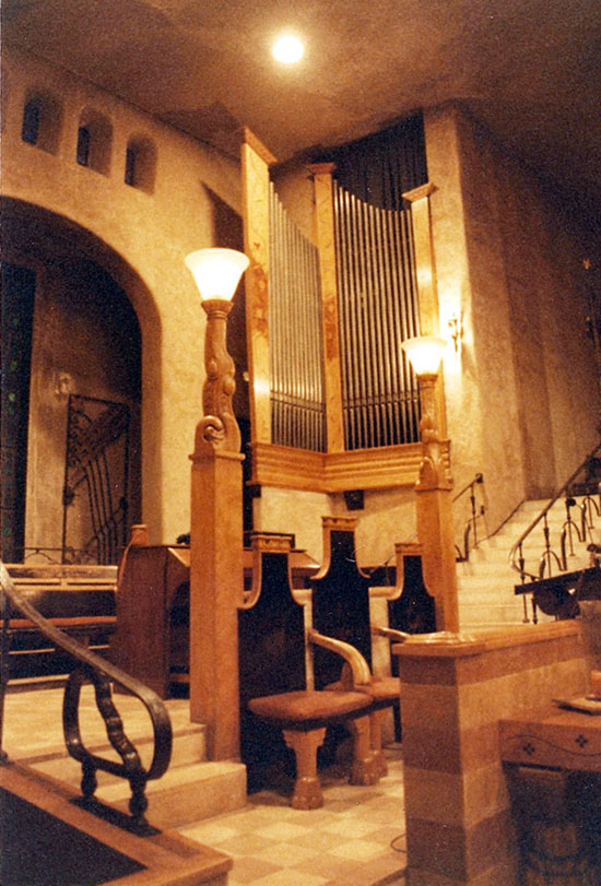 Midmer-Losh organ (1930) formerly in Trinity Baptist Church - New York City