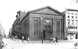 Former building of Trinity Lower East Side Lutheran Parish - New York City