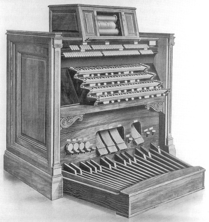 Austin Organ, Op. 120 (1904) in Wanamaker Auditorium - New York City (from Austin Organ Company Promotion Booklet, courtesy Austin Organs, Inc.)