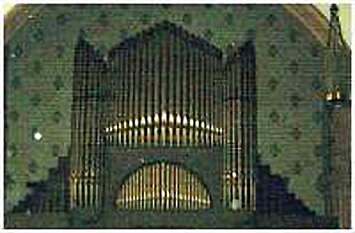 Odell Organ, Op. 378 (c.1901) Washington Square United Methodist Church - NYC (Photo: J.H. & C.S. Odell Organs)