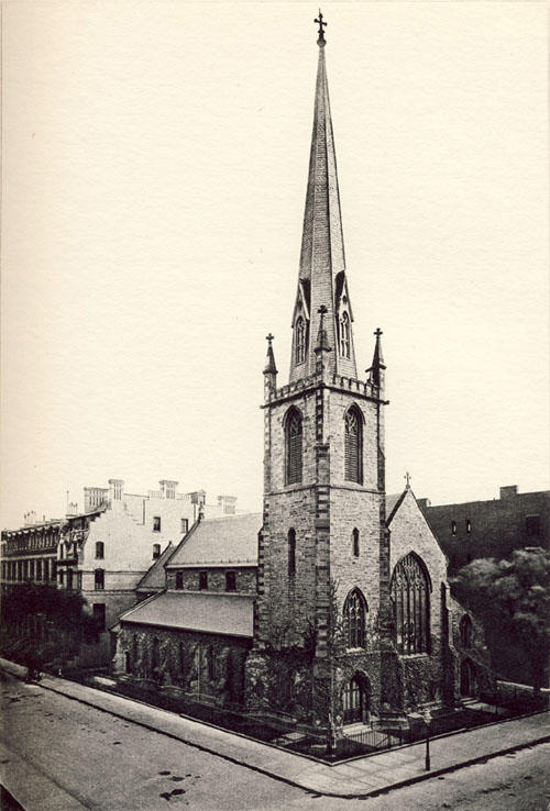 Zion Protestant Episcopal Church on Madison Avenue at 38th Street - New York City (Diocese of New York Archives)