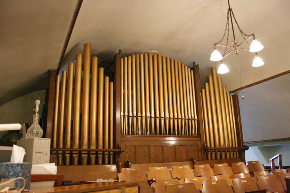 Fenton Organ (1912) at Zion-St. Mark Lutheran Church - New York City (photo: Steven E. Lawson)