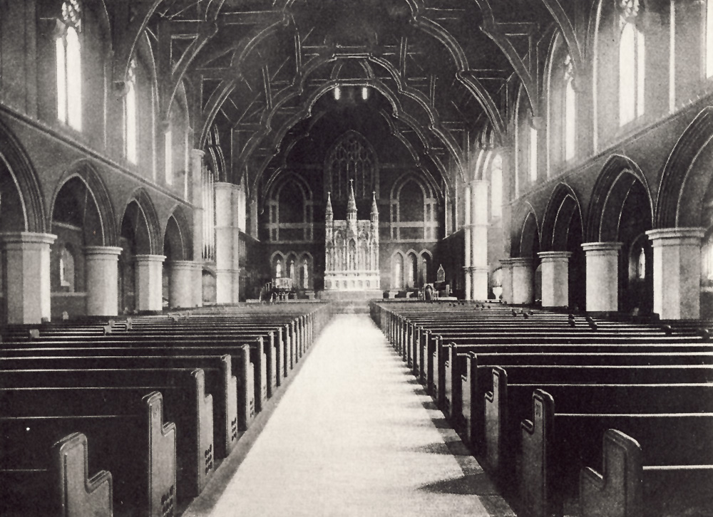 Frank Roosevelt Organ, Op. 505 (1891) in Zion and St. Timothy Protestant Episcopal Church - New York City (Diocese of New York Archives)