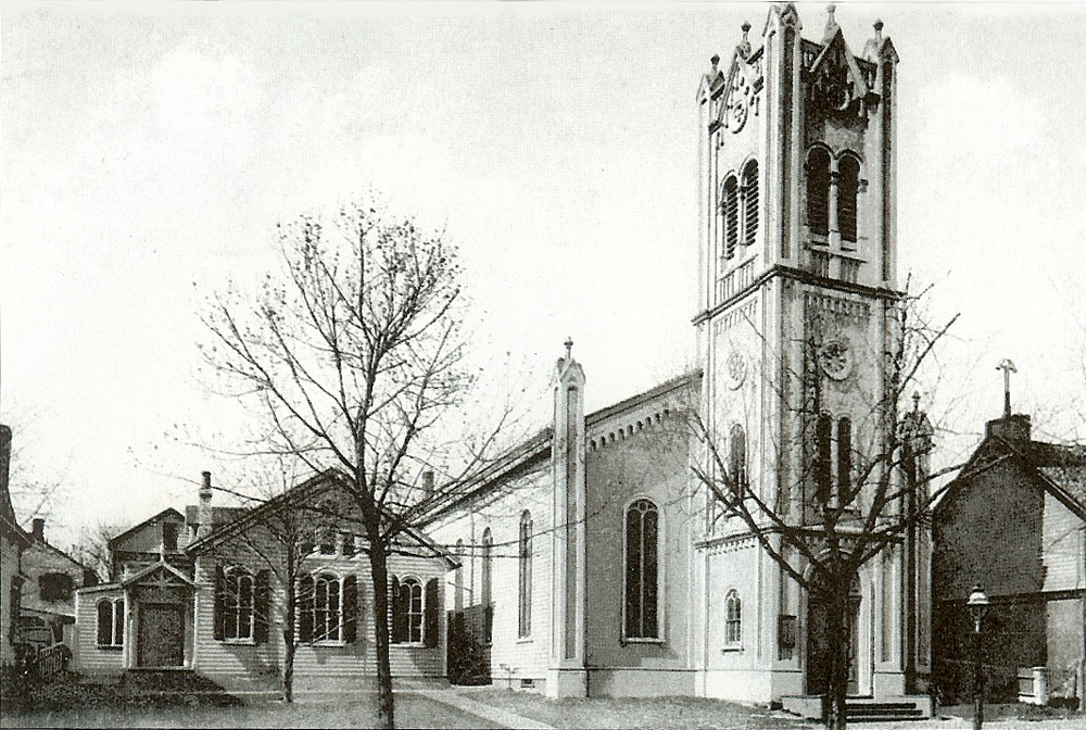 1843-1952 edifice of the First Methodist Episcopal Church - Flushing, NY