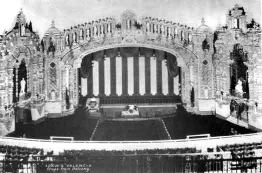 Loew's Valencia Theatre - Jamaica (Queens), N.Y. (photo: Theatre Historical Society)
